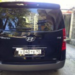Аренда Hyundai Starex с водиителем в Сочи