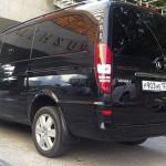 Аренда Mercedes Viano с водителем в Сочи