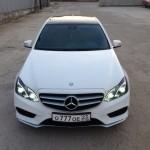 Аренда Mercedes E-class с водителем в Сочи