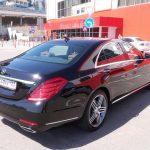 Аренда Mercedes S222 с водителем в Сочи